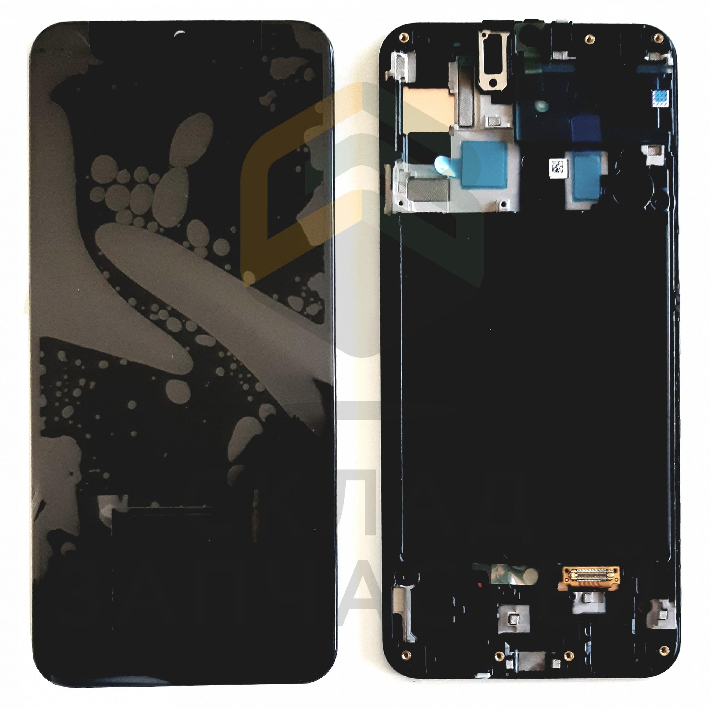 Дисплей в сборе (цвет: Black), оригинал Samsung GH82-19204A - Zstock.ru
